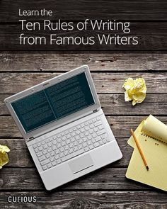 Ten Rules of Writing from Famous Writers