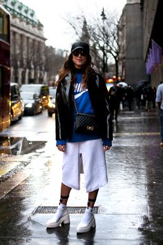 Street style from LFW AW2014