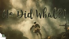 Attempted to recreate the plight of Desmond T. Doss [Hacksaw Ridge] in Call Of Duty. Here is that attempt. Desmond Doss, New Movies Coming Out, Hacksaw Ridge, Pc Gamer, I Decided, Call Of Duty, Xbox, Videogames, Nintendo