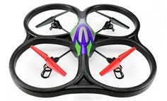 WLToys V262 Cyclone UFO 4 Channel 6 Axis Gyro Quadcopter 2.4Ghz RTF- Green $65.95