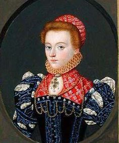 Lady Elizabeth Fitgerald, later Lady Browne, wife of Sir Anthony, and subsequent to that, Countess of Lincoln, wife of Edward Clinton, Earl of Lincoln.  Great granddaughter of Elizabeth Woodville, by her first marriage to the Marquis of Dorset.  (Lady Dorset's second marriage was to Edward IV.  Their daughter Elizabeth married Henry VII.)