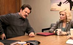 Ron Swanson, Dentist. NOT RECOMMENDED!