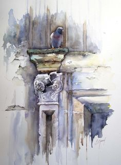 Josette MARREL Aquarelliste | Tableaux aquerelle | St Romans (Isère) #watercolor jd