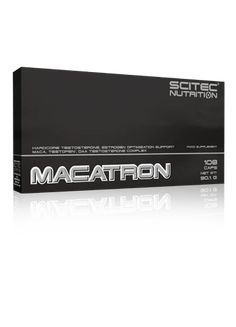 SCITEC MACATRON - Men Performance – DXHIVE Vanity Hardcore testosterone, estrogen optimization support Maca, testofen®, daa testosterone complex MACATRON is an ultra sophisticated, comprehensive Testosterone, Estrogen and libido optimization support matrix with 13 carefully selected, potent ingredients!.#dxhivevanity#scitec#nutrition#gym#bodybuild#muscules#menlibido#menperformance#macatron
