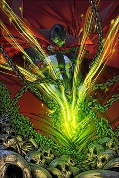 Comic Book Artist: Todd McFarlane | Abduzeedo Design Inspiration & Tutorials