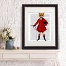 Fox Print, Fox Hunter, Full