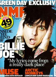 Green Day - NME Magazine cover
