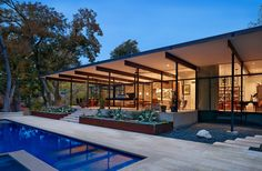 A Project of Foursquare Builders, this Texas home occupies a spacious property that allows for a design nearly unhindered by the challenges of protecting the privacy of those within....