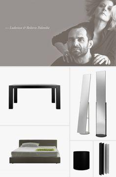 Ludovica e Roberto Palomba, architects and designers establish in palomba serafini associati. Art Director, Architects, Milan, Portrait, Live, Design, Headshot Photography, Men Portrait, Building Homes