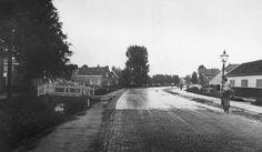 De Haagweg ter hoogte van houtzaagmolen Noordman (1930).