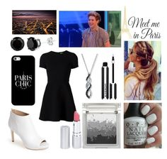 """""""Midnight in Paris with Niall"""" by sarahorantomlinson ❤ liked on Polyvore featuring Via Spiga, Opening Ceremony, Casetify, Givenchy, Sue Devitt, OPI, HoneyBee Gardens, Paul Frank and WallPops"""