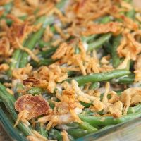 Thanksgiving Recipe: Classic Green Bean Casserole   Big Flavors from a Tiny Kitchen