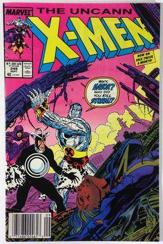 Marvel Comics X-Men #248 – 1st Jim Lee art on Uncanny X-Men - Chris Claremont VF+ 8.5