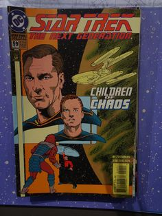 Amazing Rare Vintage Star Trek Comic year may no. 59 in absolute excellent condition, mint new. Comic Book List, Comic Books, The Next, Star Trek, Vibrant, Stars, Comics, Children, Mint