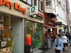 Maoz Vegetarian in Amsterdam, Noord-Holland Falafel, Holland, Amsterdam, Vegetarian Recipes, Food, The Nederlands, Essen, The Netherlands, Netherlands