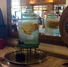 #HOTELS #SWD #GREEN2STAY MAUI COAST HOTEL    Stay hydrated with our tasty fruit infused water station in the lobby!