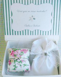 Convite para Madrinhas de Casamento Diferente
