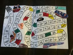 For 16 years,I've used a game board I created to teach struggling readers. With a race track theme, they master phonograms & start reading. | Quirky