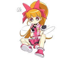 Tags: Power Puff Girls Z, Hyper Blossom, Akatsutsumi Momoko