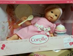 Corolle Baby Doll Mon Premier Bebe Calin with Cupcake Set From 18 Months #Corolle #DollswithClothingAccessories