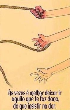 Deixar ir...