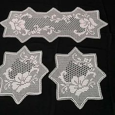 Háčkování Archivy - Strana 149 Z 257 - H - Diy Crafts - Qoster Crochet Table Runner Pattern, Crochet Placemats, Crochet Doily Patterns, Crochet Stitches, Crochet Round, Diy Crochet, Crochet Baby, Advanced Embroidery, Crochet Dollies