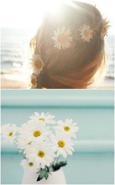 This summer, wear daisies in your hair