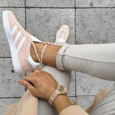 Baskets Gazelle Adidas roses = must have…