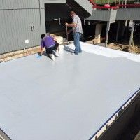 Recently Dennis Olsen a commercial roofing contractor for 23 years, got presented a unique opportunity by one of his customers. Repairing a ski lodge roof with Sani-Tred Flat Roof Repair, Commercial Roofing, Roofing Contractors, Olsen, Opportunity, Skiing, Unique, Outdoor Decor, Ski