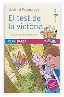 """El test de la victòria Sèrie """"Clam Barça"""", d'Antoni Dalmases. Editorial Cruïlla"""