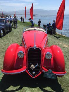Spectacular 1938 Alfa Romeo 8c touring Spider