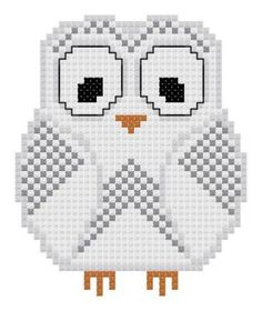 Snowy Owl Counted Cross Stitch Pattern PDF by TheGiftMarket, $3.00