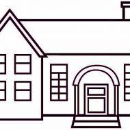 Una Casa Para Dibujar En 2020 Hacer Planos De Casas Croquis De Una Casa Planos De Casa De Dos Pisos