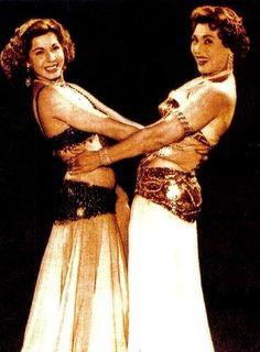 Samia Gamal & Tahia Carioca - Egyptian Vintage Dancers 50's