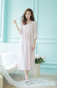 Vintage+Nightgowns+for+Women | women-high-quality-long-section-nightgown-pajamas-prince-palace ...