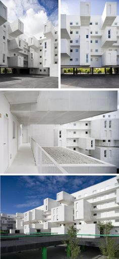 Apartment Block in Carabanchle, Madrid, Spain.  A project by: dosmasunoarquitectos