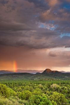 Thumb Butte During Monsoon Season (by Jeremy Pierce) — Love Arizona's landscapes, history, and wildlife? Then follow me! http://arizonanature.tumblr.com