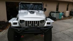 Jeep Wrangler 2006 tj / LJ Custom Hood completed.