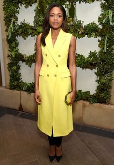 Naomie Harris in 3.1 Phillip Lim attends the AFI Awards. #bestdressed