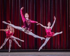 The Royal Ballet's Steven McRae and Melissa Hamilton in Rubies. Photograph: Tristram Kenton for the Guardian