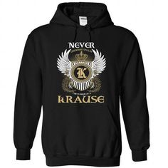 2 KRAUSE Never - #t shirt designs #fishing t shirts. GUARANTEE  => https://www.sunfrog.com/Camping/1-Black-80658817-Hoodie.html?id=60505