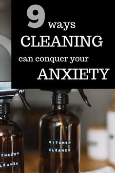 9 ways cleaning can help with anxiety, using mindfulness and de-cluttering techniques. Anxiety Coping Skills, Anxiety Tips, Stress And Anxiety, Social Anxiety Disorder, Stress Disorders, Relief Quotes, Anxiety Remedies