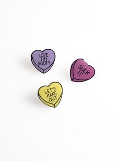 Let's Make Out Pin Pack
