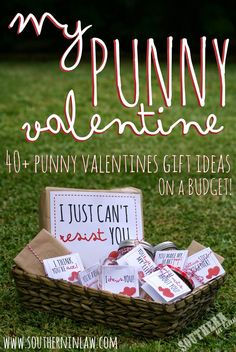 My Punny Valentine: Punny Valentines Gift Ideas with FREE Printable Gift Tags! We have 40 Punny Valentines Gift Ideas PLUS Free Printable Gift Tags to help you put together the best Valentines Gifts . Betty Crocker, Baby Showers, Candy Hearts, Funny Valentines Gifts, Valentine Ideas, Valentines Day Gifts For Him Marriage, Valentines Gifts For Boyfriend, Boyfriend Gifts, Funny Gifts