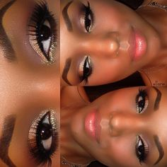 ❤ www.justfrenchstyle.com loves this makeup by #Tonisha