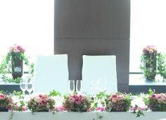 アイビーとイブピアチェ : 一会 ウエディングの花