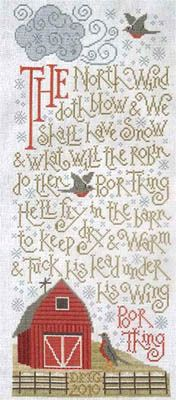 Northwind - Cross Stitch Pattern My dad used to recite this to me.