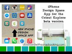 Cricut Explore Design Space iPhone App Beta #cricut #cricuteverywhere #designspace #designspaceapp #iPhoneapp #explore #exploreapp #obsessedwithscrapbooking obsessedwithscrapbooking.com