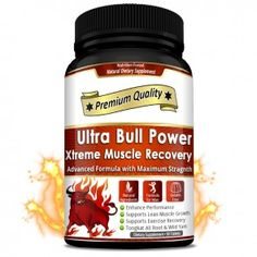 Ultra Bull Power Xtreme Muscle Recovery - It provides muscles strength, stamina and balances hormone. It removes excess fatigue and eliminates joint pain and stress. Testosterone Deficiency, Testosterone Booster, Gelatin Ingredients, Herbal Store, Low Libido, Bone Density, Muscle Recovery, Herbal Extracts