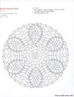Delicadezas en crochet Gabriela: Servilleta con palomitas ideal para principiantes en esta bella técnica a crochet